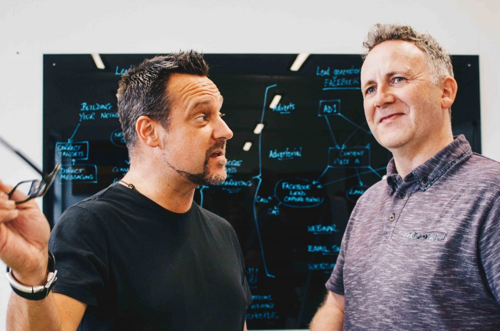 Simon Young and Andy Price | Institution Academy Directors